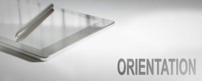 Технология концепции дела ОРИЕНТАЦИИ цифровая Стоковое Изображение RF