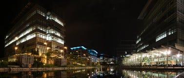 технология науки парка ночи Hong Kong Стоковые Фотографии RF