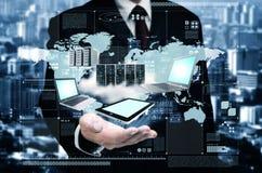 Технология облака интернета стоковое изображение