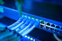 Технология переключателя ядра в месте комнаты сети стоковые изображения rf