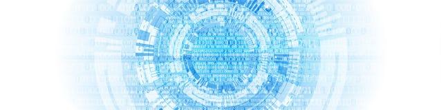 технология планеты телефона земли бинарного Кода предпосылки компьютер бинарного Кода Вектор Illustratio иллюстрация вектора