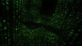 технология планеты телефона земли бинарного Кода предпосылки бинарный Код Абстрактные большие данные бесплатная иллюстрация