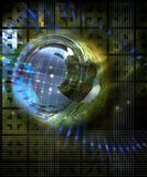 технология планеты Стоковые Изображения RF