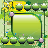 технология предпосылки зеленая Стоковое фото RF