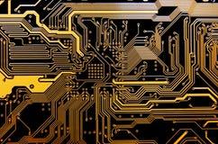 технология принципиальной схемы Стоковое Изображение RF