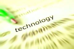 технология принципиальной схемы Стоковая Фотография RF