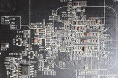Технология радиотехнической схемы Стоковое Изображение