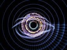 технология радужки Стоковое Фото