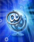 технология сети электронной почты гловальная Стоковое Изображение RF