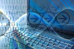 технология смешивания компьютера Стоковые Фото