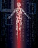 технология человека Стоковые Изображения