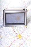 технология gps Стоковое Изображение RF