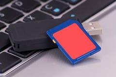 технология sd памяти карточки Стоковые Изображения RF