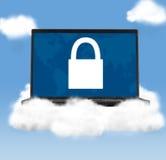 Технологии облака стоковая фотография rf