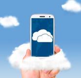 Технологии облака стоковые фотографии rf