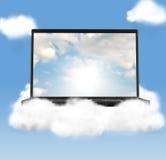 Технологии облака стоковое фото
