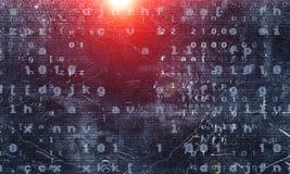 Технологии сети и концепция безопасностью стоковое изображение rf