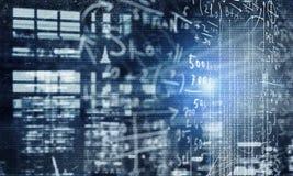 Технологии сети и концепция безопасностью иллюстрация штока