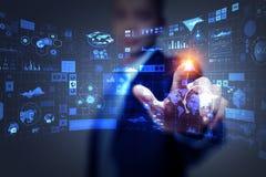 Технологии средств массовой информации для дела Мультимедиа Мультимедиа стоковая фотография