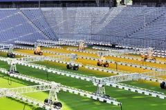Технологии травы растущие Стоковая Фотография RF