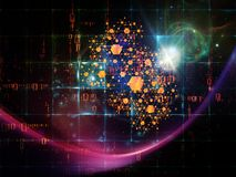 Технологии частицы Стоковые Изображения RF