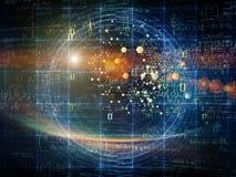 Технологии частицы Стоковые Фото