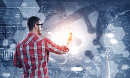 Технологии для соединения и сообщения Стоковая Фотография RF