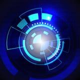Технология графика круга Стоковые Изображения
