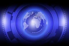 Технология глобализации иллюстрация штока
