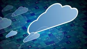 Технология интеграции с природой, небом Самые лучшие идеи для дела Стоковое Изображение RF