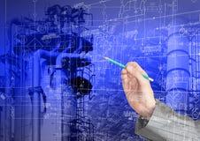 Технология индустриальной инженерии Стоковые Фотографии RF
