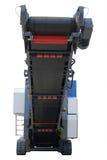технология дороги машины двигателя асфальта распространяя Стоковая Фотография