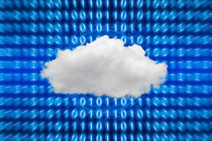 технология принципиальной схемы облака вычисляя Стоковые Фото