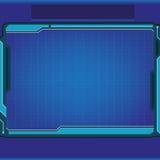 технология планеты телефона земли бинарного Кода предпосылки Стоковые Изображения
