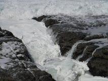 Течение моря стоковое изображение