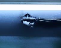Течение, электричество стоковая фотография