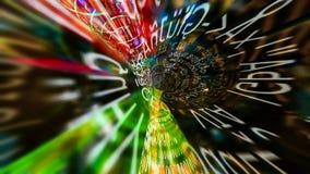 Течь данные 0232 Стоковая Фотография RF