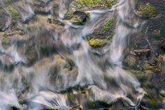 Течь воды Стоковое фото RF