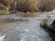 Течь река стоковая фотография rf