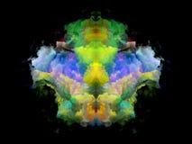 Телевизионная испытательная таблица Rorschach цвета бесплатная иллюстрация