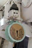 Телеграф корабля - signalization заказов капитана Стоковое фото RF
