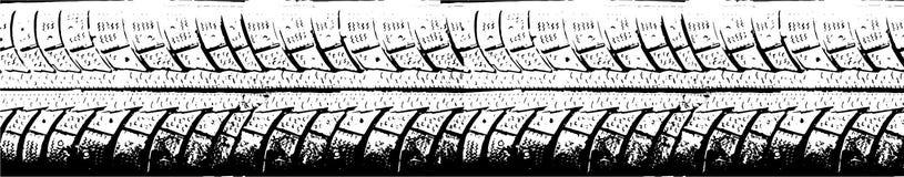 Тележка автошины Стоковые Изображения