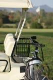 Тележка гольфа Стоковые Фотографии RF