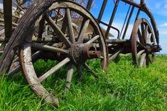 тележка деревенская Стоковая Фотография RF