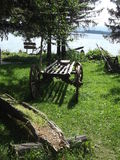 Тележка деревянная Стоковая Фотография