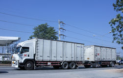 Тележка контейнера Стоковая Фотография RF