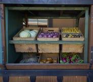 Тележка овощей Стоковое фото RF