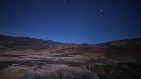 Тележка снятая ночного неба акции видеоматериалы