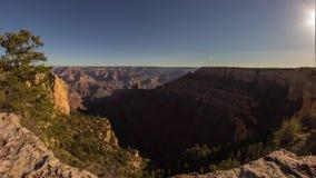 Тележка снятая света утра в гранд-каньоне видеоматериал