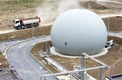 Тележка танка природного газа Стоковые Фото